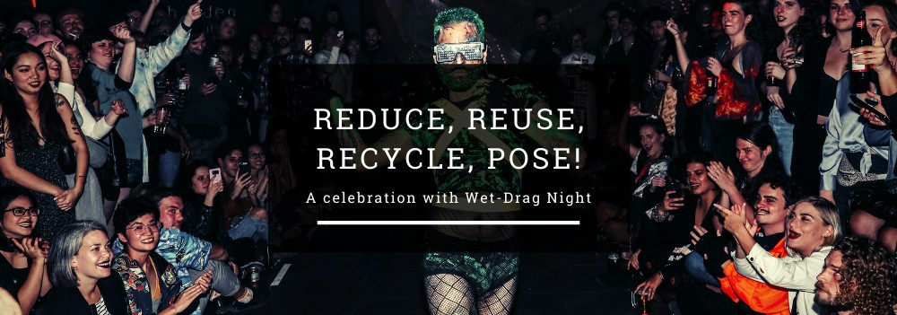 Reduce, Reuse, Recycle, Pose! header image