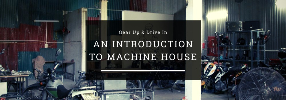 Gear Up & Drive In: An Introduction To The Co-Working Space Machine House header image