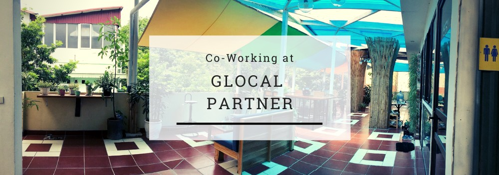Co-working at Glocal Partner header image