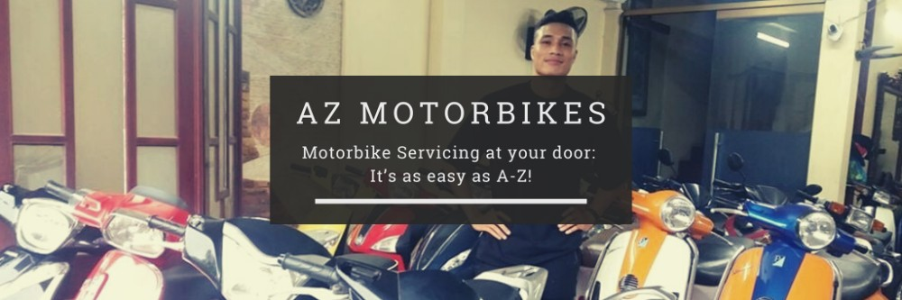 Motorbike Servicing at your door: It's as easy as A-Z! header image