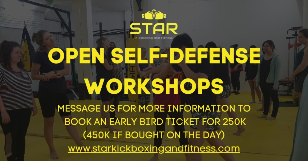 Self-Defense Training in the Heart of Tay Ho header image